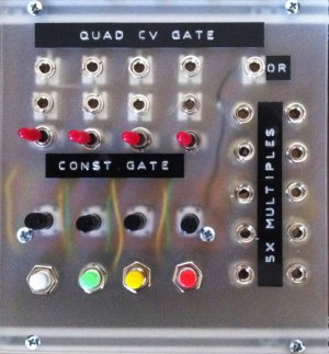 Eurorack Module Quad CV/Gate Source (DIY) from Other/unknown