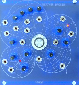 Eurorack Module Weather Drones from Eowave