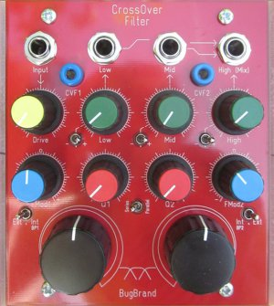 Pedals Module CrossOver Filter from BugBrand