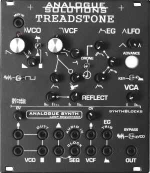 Eurorack Module Treadstone Analogue Synthesizer from Analogue Solutions