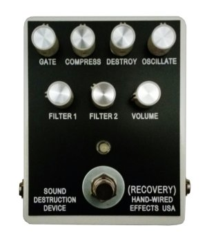 Pedals Module Sound Destruction Device v3 from Recovery Effects and Devices