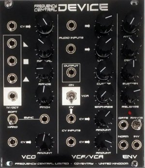 Eurorack Module DEVICE from Frequency Central