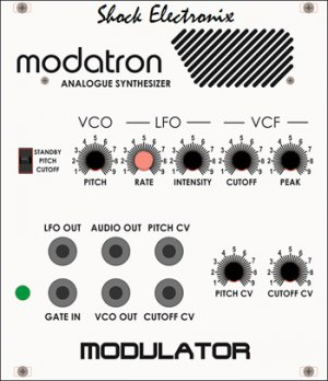 Eurorack Module Shock Electronix Modatron Modulator from Other/unknown
