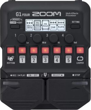 Pedals Module G1 FOUR from Zoom