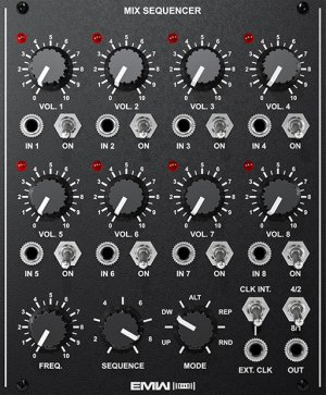Eurorack Module MIX SEQUENCER from EMW