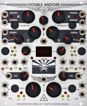 Eurorack Module Double Andore from Industrial Music Electronics