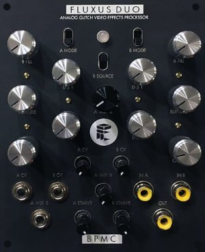 Eurorack Module Fluxus Duo Black  from Other/unknown