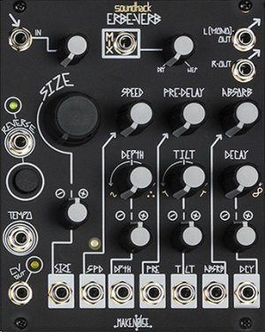 Eurorack Module Erbe-Verb (black panel) from Make Noise