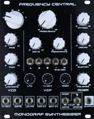 Eurorack Module Monograf from Frequency Central
