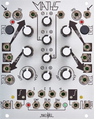 Eurorack Module Maths (white knobs) from Make Noise