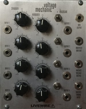 Eurorack Module Voltage Mechanic from Livewire Electronics