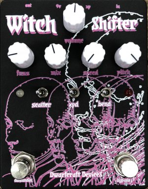 Pedals Module Witch Shifter from Dwarfcraft Devices