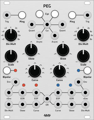 Eurorack Module 4ms PEG (Grayscale panel) from Grayscale