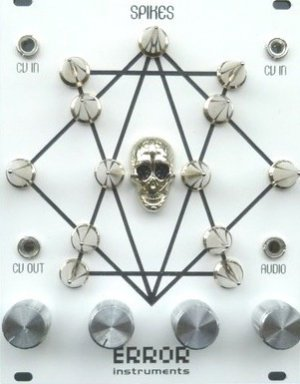 Eurorack Module SPIKES white MILK edition. from Error Instruments