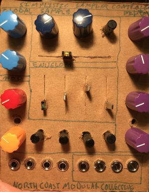 Eurorack Module Simplistic Sample Controller Prototype from Other/unknown