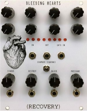 Eurorack Module Bleeding Hearts from Recovery Effects and Devices