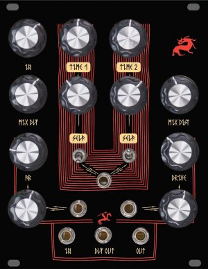 Eurorack Module Lyra8-FX (different knobs) from SOMA Laboratory