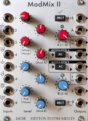 Eurorack Module ModMixII from Hinton Instruments