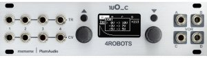 Eurorack Module 1uO_c - 4Robots from Plum Audio