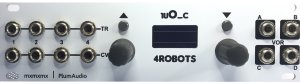 "Eurorack Module 1uO_c - 4Robots (w0.96"" Screen) from Plum Audio"