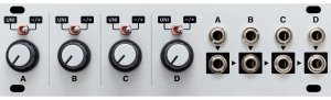 Eurorack Module Quadratt 1U from Intellijel