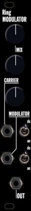 Eurorack Module Music Thing AD633 Ring Modulator from Other/unknown