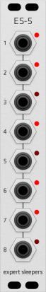 Eurorack Module ES-5 (Grayscale panel) from Grayscale