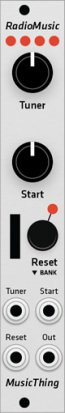 Eurorack Module Music Thing Radio Music  from Grayscale