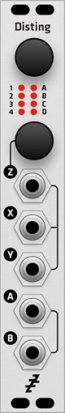 Eurorack Module Expert Sleepers Disting MK3 (alternate panel) from Grayscale