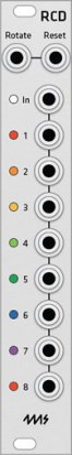 Eurorack Module 4ms RCD (Grayscale panel) from Grayscale