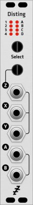 Eurorack Module Expert Sleepers Disting MK1/MK2 (Grayscale panel) from Grayscale