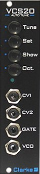Eurorack Module Clarke VCS20 from Analogue Solutions