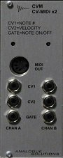 Eurorack Module CVM2 from Analogue Solutions