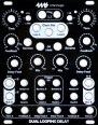 4ms Company Dual Looping Delay - Black Panel