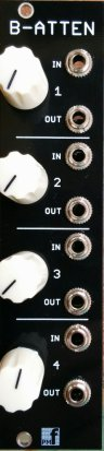 Eurorack Module Buffered Attenuator from PMFoundations