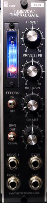 MU Module 1530 Tube VCA/Timbral Gate from Synthetic Sound Labs
