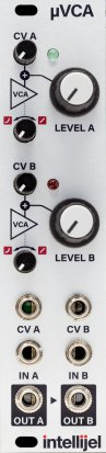 Eurorack Module μVCA II from Intellijel