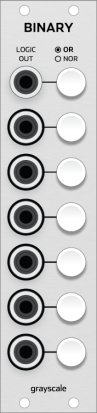 Eurorack Module Binary from Grayscale