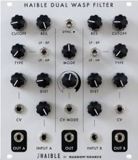 Eurorack Module HAIBLE DUAL WASP FILTER from Random*Source
