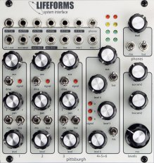 Eurorack Module Lifeforms System Interface from Pittsburgh Modular