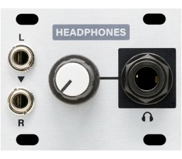 Eurorack Module Headphones 1U from Intellijel