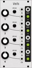 Mutable Instruments Veils (Grayscale panel)