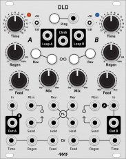 4ms DLD Dual Looping Delay (Grayscale panel)