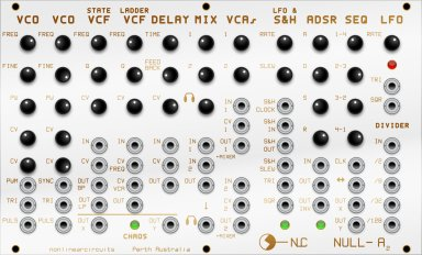 Eurorack Module Null-A2 from Nonlinearcircuits