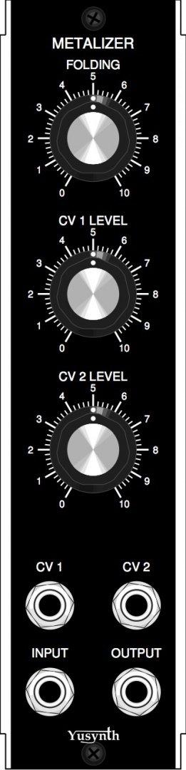 YuSynth Metalizer - MU Module on ModularGrid