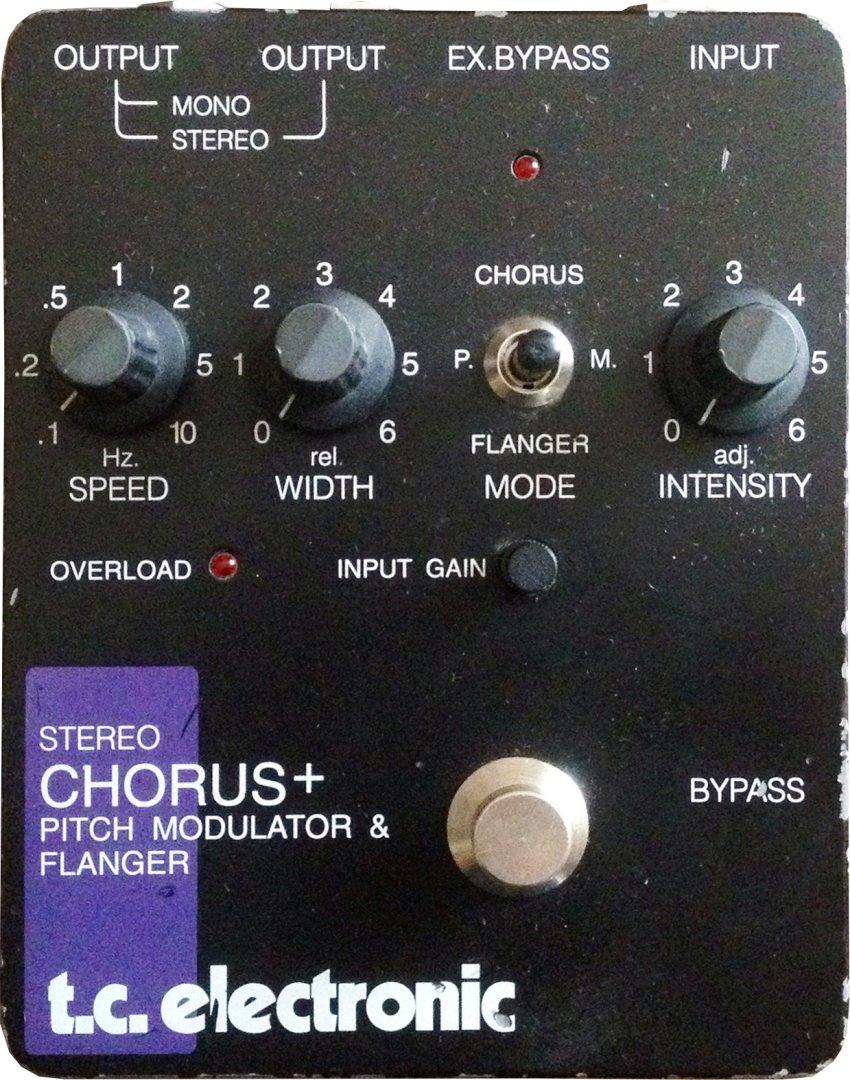 tc electronic stereo chorus flanger scf original pedal on modulargrid. Black Bedroom Furniture Sets. Home Design Ideas