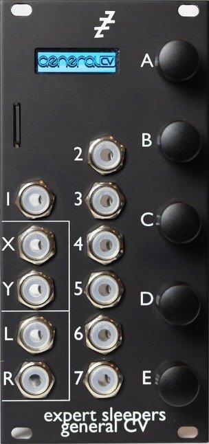 Expert Sleepers General Cv Eurorack Module On Modulargrid