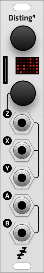 Grayscale Expert Sleepers Disting MK4 (alternate panel