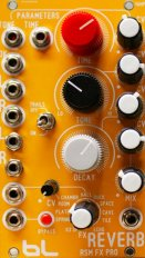 Eurorack Module CV Behringer RV600 Reverb. Additional Circuits by Flavio Mireles from Other/unknown