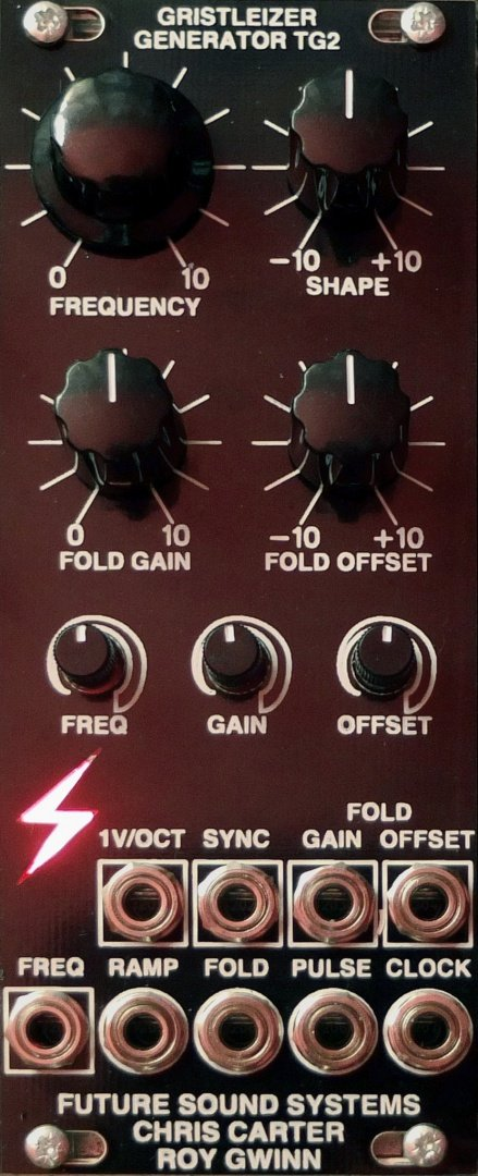 Future Sound Systems TG2 Generator - Eurorack Module on